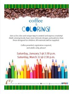 An adult coloring program. Adult coloring books have become all the rage and would be a perfect program for a library.