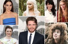 No tapete vermelho, uma enorme diferença entre atores e personagens de Game of Thrones
