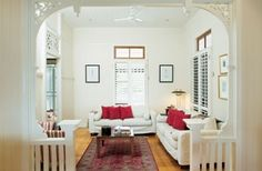 queenslander living room