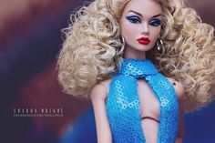 Angel in Blue | Poppy Parker | Centerpiece doll 2014 Integrity Toys GLOSS Convention