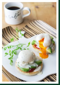 お野菜たっぷりエッグベネディクト|〈ブレンディ〉レギュラー・コーヒー おうちdeカフェごはん|AGF