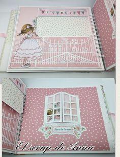 Mini Albums Scrap, Mini Scrapbook Albums, Baby Scrapbook, Diy And Crafts, Paper Crafts, Wedding Hands, Baby Album, Album Design, Album Photo