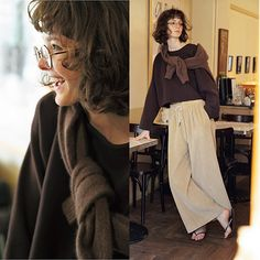 Minimal Fashion, Retro Fashion, Love Fashion, Fashion Outfits, Concept Clothing, Korean Fashion Work, Mature Fashion, Japan Fashion, Preppy Style