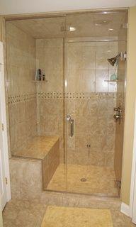 master bath shower ideas - Google Search