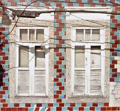 Azulejos antigos no Rio de Janeiro: Santo Cristo V - rua Pedro Alves