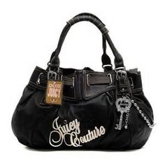 cheap - Cheap Juicy Couture Signature With Silver Key Free Style Bags -  Black - Wholesale Discount Price b1c81783c854
