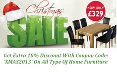 Get an Extra 10% OFF on Everything with Coupon Code: XMAS2013   Offer Ends 1st Jan 2014! Selling Furniture, Home Furniture, Magnetic Knife Strip, Types Of Houses, Coupon Codes, Coupons, Coding, Top, Home Goods Furniture