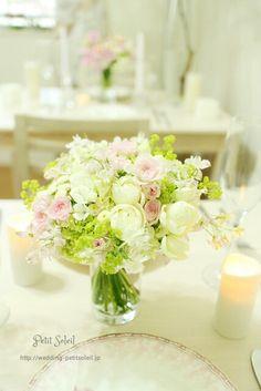 ウェディング装花 wedding table flowers