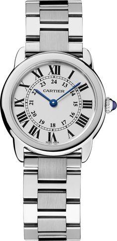 Ronde Solo de Cartier watch29 mm, steel