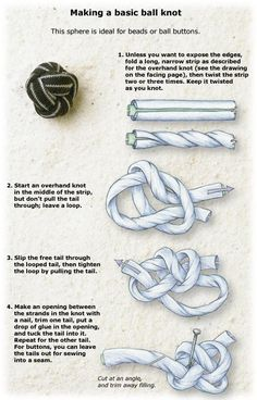 knot buttons
