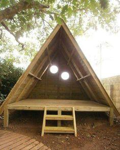 A frame playhouse