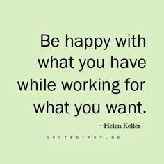 Wise words from #HelenKeller , be thankful! // ASliceOfGlam.com