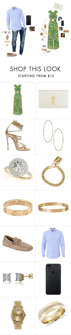 """June 13"" by destinee1019 ❤ liked on Polyvore featuring Alice McCall, Yves Saint Laurent, Dsquared2, Allurez, Chanel, Cartier, Rolex, xO Design, Tod's and Witchery"
