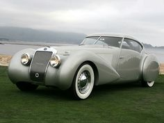 VOITURES DE LEGENDE (4) : DELAGE 120s POURTOUT AERO COUPE - 1938 - VICTOR ASSOCIATION