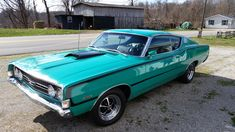 My 1968 Ford Torino GT Fastback ..390 4 speed