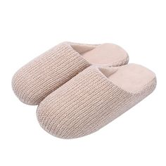 Goreuns Indoor House Slip-on Cozy Knitted Slippers for Women -- More info could be found at the image url.