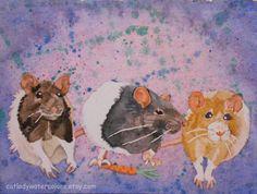 ¨¨°º©©º°¨¨I Miss My Little Rat, Mittens¨¨°º©©º°¨¨   by Frances on Etsy