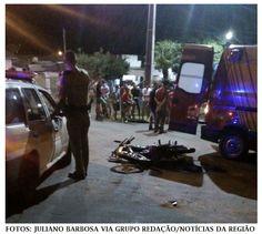 BLOG DO MARKINHOS: Colisão envolve motocicleta e veículo em Jardim Al...