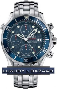 Seamaster 300m Chronograph ( SS / Blue /SS) $3300