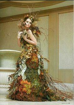 ideia de sobreposição com folhas e galhos secos