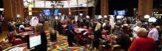 Hollywood Casino's slots floor (Penn National Racecourse).
