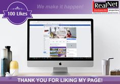 Thank you for liking my page!  #realnet #durbanville #properties #luxuryproperties #investmentproperties #propertiesforsale #propertybuyers #propertysellers #realestate #realclients #realclientsrealresults #realestateclients