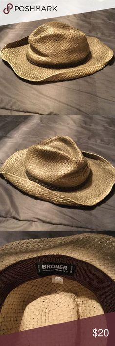Guys Broner Cowboy Hat Cowboy hat worn ONCE Buckle Accessories Hats