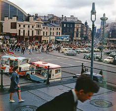 Orange Order March. Lime St, Liverpool 1965