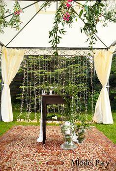 Greenary wedding decorations Ślub i wesele - motyw lasu - Przewodnik Młodej Pary