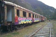 Estación abandonada de Canfranc, Huesca, Aragón (Spain