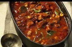 Pečený fazolový guláš