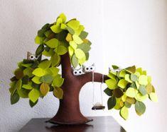 Purple Weeping willow-Felt Tree-Home decor-Soft от Intres на Etsy