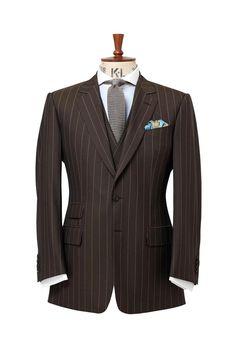 Brown Pinstripe Suit   Brown Pinstripe Suit Ideas   Pinterest ...