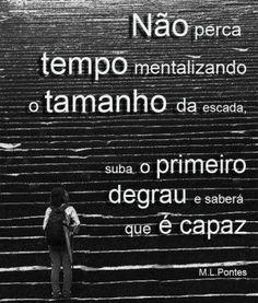 Tamanho da escada Jordan Belfort, Keep Looking Up, Powerful Words, Facebook Sign Up, Letter Board, Digital Marketing, Inspirational Quotes, Positivity, Messages