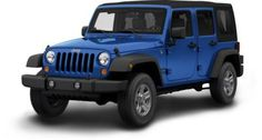 jeep wrangler unlimited sport.  I would loooove to own this :)