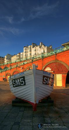 Brighton seafront, East Sussex, UK.  Love to shop for semi-antiques here.