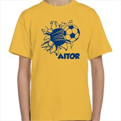 Camiseta personalizada balón