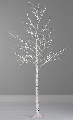 It's Twigmas time! Spruces and firs dumped for 'size zero' fake trees. but are Scandi-noir dramas to blame? White Twig Christmas Tree, Pre Lit Twig Tree, White Twig Tree, Christmas Tree Branches, Led Christmas Lights, Xmas Tree, Wood Tree, Birch Trees, Winter Floral Arrangements
