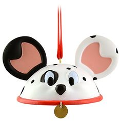 Got this from my parents for Christmas!! :  )    Limited Edition Ear Hat 101 Dalmatians Ornament