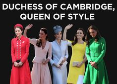 The Definitive Ranking Of Kate's Royal Tour Outfits