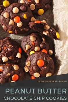 10 reviews · 23 minutes · Serves 30 · Chocolate White Chocolate Chip Cookies with Peanut Butter are the perfect cookies for Halloween! These super soft dark chocolate cookies are studded with white chocolate, semisweet chocolate and… More
