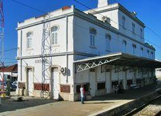 * Estação de Alcácer do Sal * 2001. Distrito de Setúbal, Portugal.