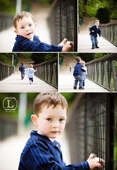 A great brother and sister session idea!