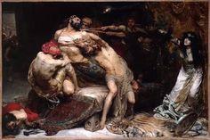 令人震撼的画家~~所罗门·约瑟夫·所罗门油画作品选(英国) - 美体油画摄影 - 美体油画摄影