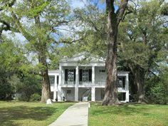 Oakleigh in Mobile, Alabama.