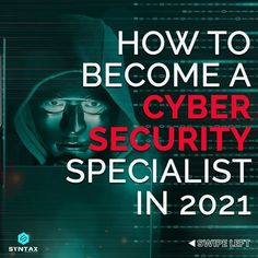 Almost every company in the world today requires CyberSecurity experts to build & protect systems to mitigate catastrophic cyber threats.😈 However, not many people are aware of the roadmap to follow to establish a career in CyberSecurity. Let us find out in this post. #cybersecurity #ethicalhacker #ethicalhackers #ethicalhacking #ethicalhackerintraining #cybersecuritytraining #cybersecuritycourse #cybersecuritytips #cybersecurityawareness #cybersecuritynews #syntaxtechnologies #syntaxtechs Cyber Security Course, Cyber Security Awareness, Cyber Security Certifications, Security Training, Cyber Threat, Marketing Jobs, Training Courses, How To Become, Opportunity