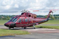 Sikorsky S-76 - The royal helicopter - Queen Elizabeth II