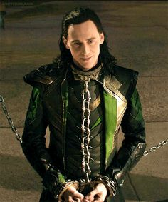 Oh Loki... I don't like seeing you in those chains, but you sure do look good! Even in chains!