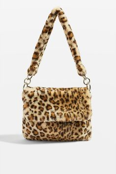 Panther Cross Body Bag in animal print available at Topshop 776be7a7b974f