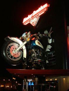 Harley Davidson Cafe on the Strip hdcafe ,we got married here 10-08-04.